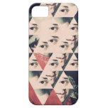 Caso de Iphone de los ojos de Mozart iPhone 5 Case-Mate Cárcasa