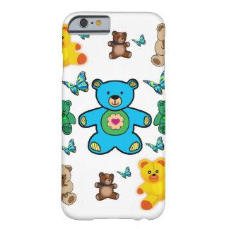 Caso de Iphone de los osos de peluche para los Funda Barely There iPhone 6