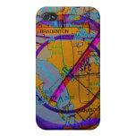 Caso de Iphone del aeropuerto internacional de Sar iPhone 4/4S Carcasas