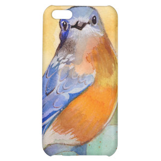 Caso de Iphone del Bluebird