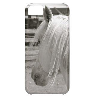 Caso de Iphone del caballo blanco