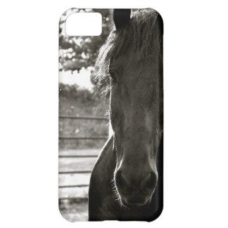 Caso de IPhone del caballo de Fresian
