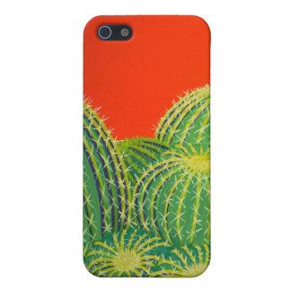 Caso de IPhone del cactus de barril iPhone 5 Carcasas