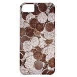 Caso de Iphone del caramelo de Choco