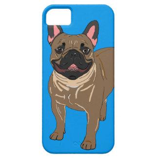 Caso de Iphone del dogo francés iPhone 5 Carcasas