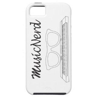 Caso de Iphone del empollón de la música: Teclado iPhone 5 Cárcasas