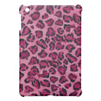 Caso de Iphone del estampado leopardo de las rosas