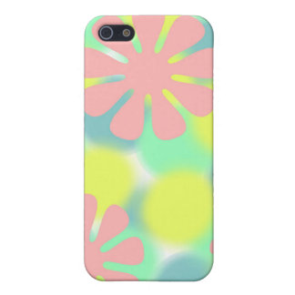 Caso de IPhone del flower power iPhone 5 Fundas