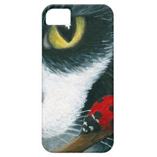 Caso de Iphone del gato 542 iPhone 5 Case-Mate Cárcasa