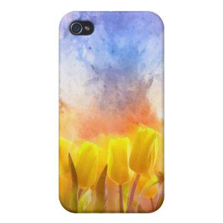 Caso de Iphone del jardín del cielo iPhone 4 Funda