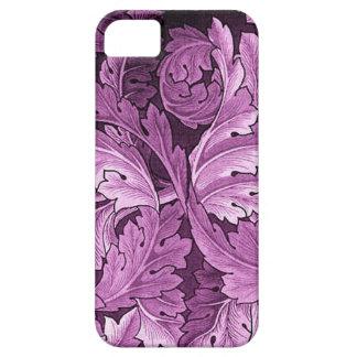 Caso de Iphone del modelo del Acanthus de William  iPhone 5 Case-Mate Carcasas