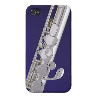 Caso de Iphone del músico de la flauta o del flaut iPhone 4 Carcasa