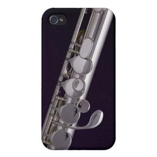 Caso de Iphone del músico de la flauta o del flaut iPhone 4 Fundas