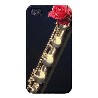 Caso de Iphone del músico de la flauta o del flaut iPhone 4 Cárcasa