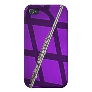 Caso de Iphone del músico de la flauta o del flaut iPhone 4/4S Fundas