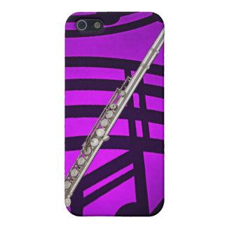 Caso de Iphone del músico de la flauta o del flaut iPhone 5 Funda