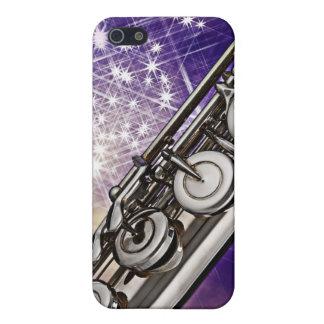 Caso de Iphone del músico de la flauta o del flaut iPhone 5 Fundas