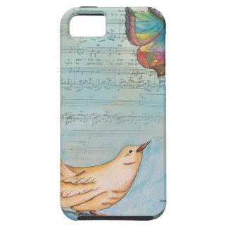 Caso de Iphone del pájaro cantante iPhone 5 Carcasas