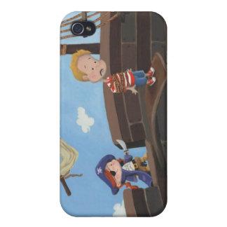Caso de IPhone del pirata iPhone 4 Fundas