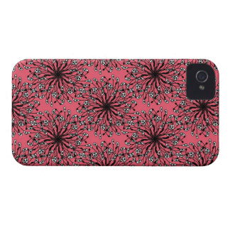Caso de IPhone del Pompom iPhone 4 Case-Mate Coberturas