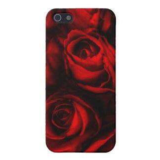 Caso de Iphone del rosa rojo iPhone 5 Funda
