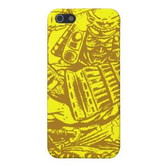 Caso de Iphone del samurai iPhone 5 Cárcasa
