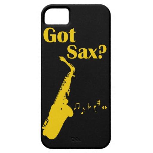Caso de Iphone del saxofón iPhone 5 Funda