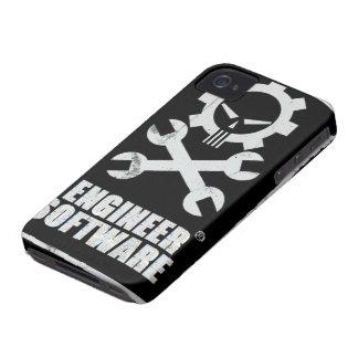 Caso de Iphone del software del ingeniero Carcasa Para iPhone 4