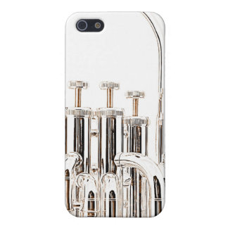 Caso de Iphone del Sousaphone de la tuba para el iPhone 5 Carcasa