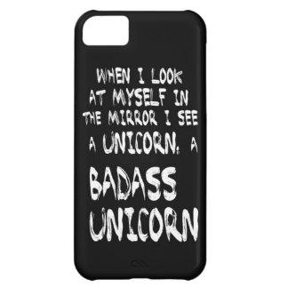 Caso de IPhone del unicornio de Badass Funda Para iPhone 5C