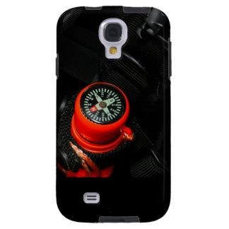 Caso de Iphone/Ipad con el compás rojo Funda Galaxy S4