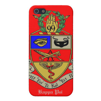Caso de IPhone para Kappa PSI Fraternit farmacéuti iPhone 5 Funda