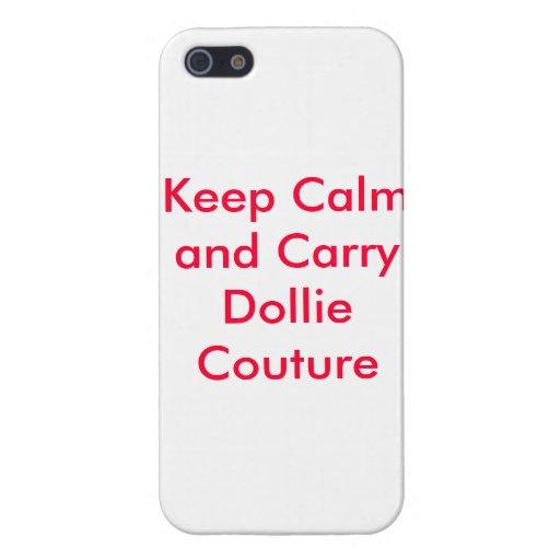 Caso de Iphone por las costuras de Dollie iPhone 5 Cárcasas