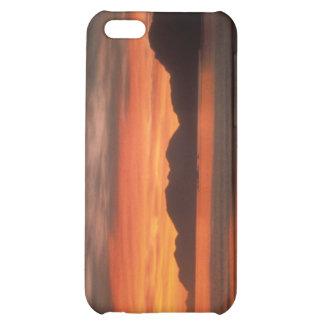 Caso de IPhone salida del sol de Adak de la playa
