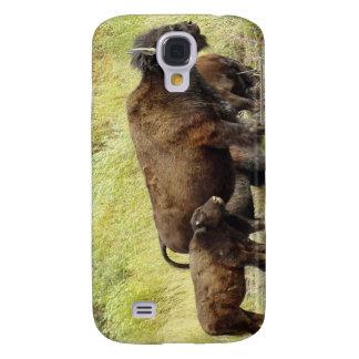 Caso de itinerancia del iPhone 3G del búfalo Funda Para Galaxy S4