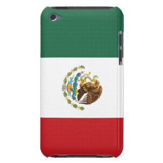 Caso de iTouch de la bandera de México Barely There iPod Cárcasa