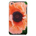 Caso de iTouch de la flor de la amapola iPod Touch Case-Mate Fundas