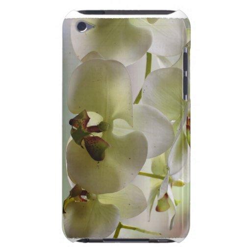 Caso de iTouch de las orquídeas que cuelga iPod Touch Case-Mate Cobertura