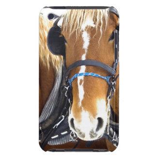 Caso de iTouch de los caballos de proyecto de Clyd iPod Case-Mate Protector