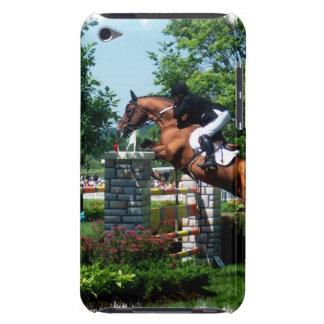 Caso de iTouch del caballo de Grand Prix iPod Touch Case-Mate Cárcasas