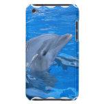 Caso de iTouch del delfín de Bottlenose Barely There iPod Carcasa