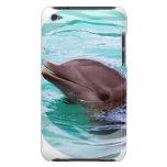 Caso de iTouch del diseño del delfín Barely There iPod Cárcasa