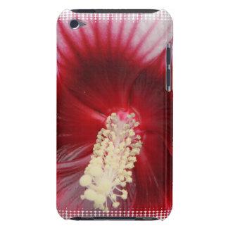 Caso de iTouch del estambre del hibisco iPod Touch Carcasa