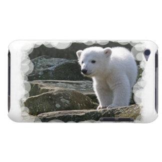 Caso de iTouch del oso polar del bebé Barely There iPod Protector