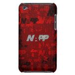 "caso de iTouch por NAPP - ""artsy rojo "" iPod Touch Carcasas"