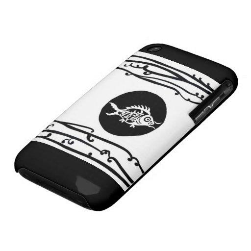 Caso de Jonah Blackberry Carcasa Para iPhone 3