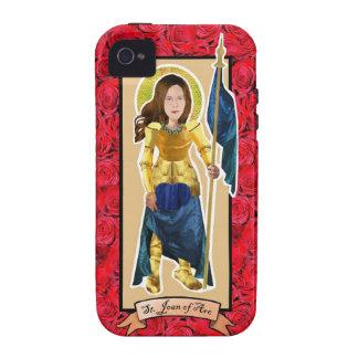 Caso de Juana de Arco Iphone del santo Case-Mate iPhone 4 Fundas
