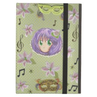 Caso de Kickstand del iPad de Chibi Yuriko