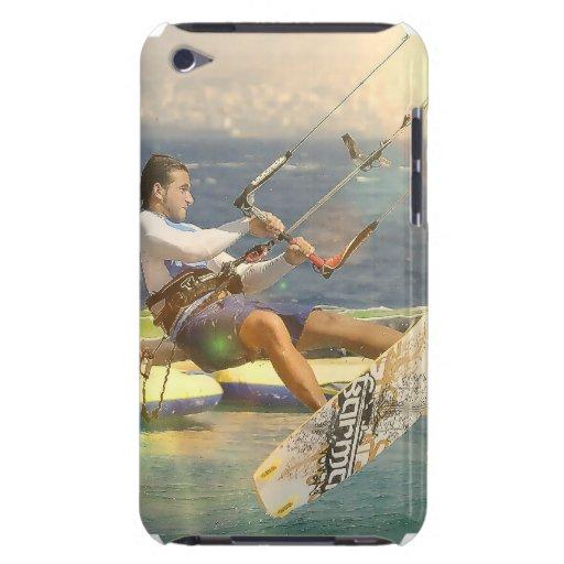 Caso de Kitesurfing iTouch iPod Case-Mate Fundas