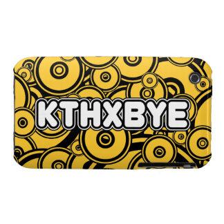 Caso de KTHXBYE Case-Mate iPhone 3 Coberturas